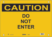 Guardian Extreme S5550 Caution Sign