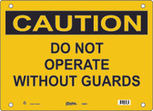 Guardian Extreme S5850 Caution Sign