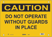 Guardian Extreme S5900 Caution Sign