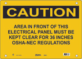 Guardian Extreme S5050 Caution Sign
