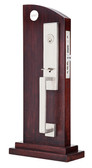 Emtek Mormont Stainless Steel Mortise Entry Set