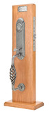 Emtek Lafayette Monolithic Mortise Entry Set