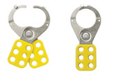 "Economy 1-1/2"" Lockout Hasp (yellow)"