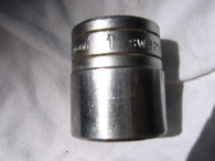 """Snap On 1/"""" drive 12 point 1"""" socket SW321"""