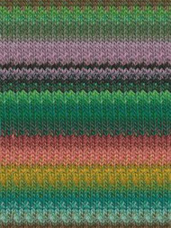 Noro - Taiyo #71 Greens, Pink, Orange, Black