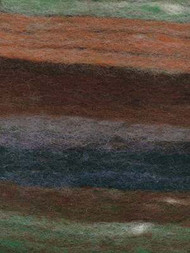 Noro Rainbow Roll #1004  Chocolate, Green, Rust