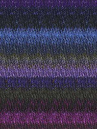 Noro - Silk Garden #395  Purple, Black, Blue, Violet