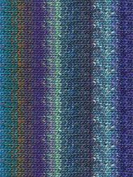Noro - Silk Garden #373  Blue, Sky Blue, Royal, Light Green