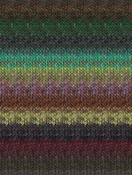 Noro - Silk Garden #378  Green, Brown, Olive, Black