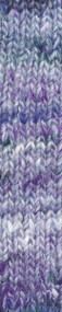 Noro - Tennen #53 - Fujisawa (Graphite,  Purple and White)