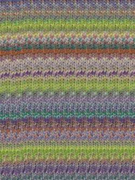 Noro - Kibou #11 - (Purple, lime and orange)