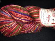 Misti Alpaca - Hand Paint Sock - Tilt a Whirl HS46