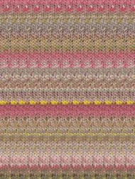 Noro - Kibou #1 - (Neutrals, Pink, Yellow, Green)