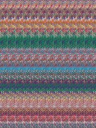 Noro - Kibou #9 - (Orange, Blue, Green, Pink)