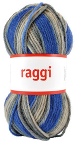 Aalta Raggi Yarn - Sea Blue Print # 15138