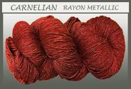 Blue Heron - Rayon Metallic - Carnelian