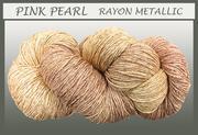 Blue Heron - Rayon Metallic - Pink Pearl
