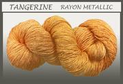 Blue Heron - Rayon Metallic - Tangerine