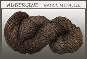 Blue Heron - Rayon Metallic - Auberrgine