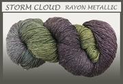 Blue Heron - Rayon Metallic - Storm Cloud