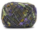 Trendsetter Yarn - Charming - Olive w/ purple #1001P