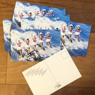 Jane's vintage 1982 VACATION Promo Postcards - autographed