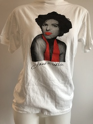 Jane Wiedlin WORLD ON FIRE shirt (RARE)