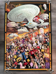 Star Trek - The Next Generation 30th Anniversary poster