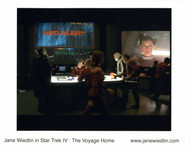 Signed by Jane - in Star Trek IV - Red Alert