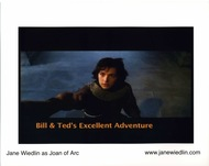 Signed by Jane - Joan of Arc in Bill & Ted