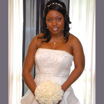 Ivory Silk Rose Hand Tie (2 Dozen Roses) - Bridal Wedding Bouquet