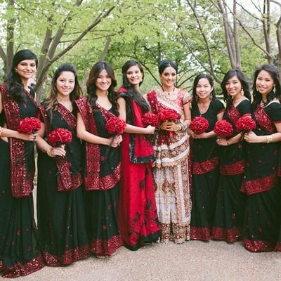 Red Silk Rose Toss Bouquet -1 Dozen Silk Roses - Bridal Wedding Bouquet