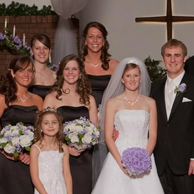 Lavender Silk Rose Hand Tie (3 Dozen Roses) - Bridal Wedding Bouquet