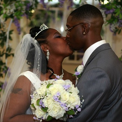 Sweet Lavender Silk Rose Nosegay - Bridal Wedding Bouquet