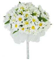 Daisy Silk Hand Tie - Bridal Wedding Bouquet