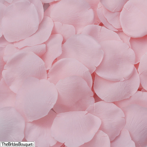 Silk Flower Bouquets Do Yourself: Pink Silk Rose Petals