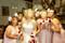 Red, Pink and Ivory Silk Rose Toss Bouquet - Silk Bridal Wedding Bouquet
