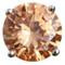 Champagne Diamond Bouquet Jewel - Silk or Fresh Wedding Flowers