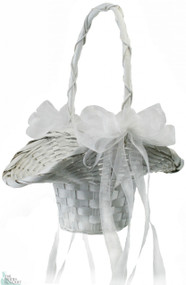 Wedding Basket with Bows