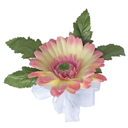 Blush Pink Silk flower Ladies Corsage
