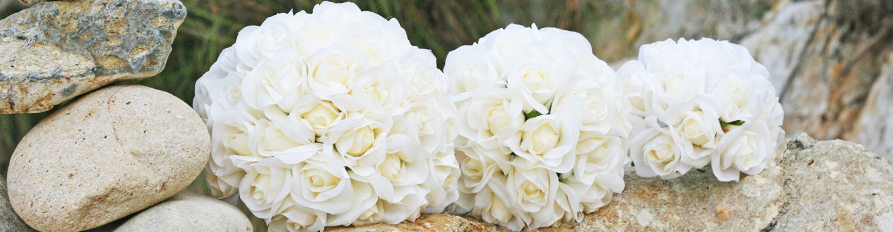 Silk Wedding Bouquets and Flowers