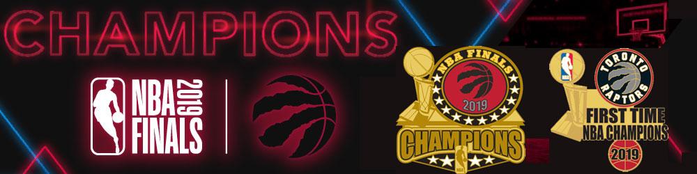 Raptors NBA Champs Pins