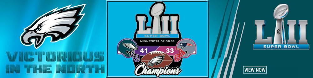 Eagles Super Bowl Champs Pins