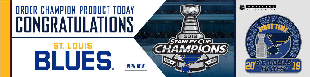 Blues Stanley Cup Champions Pins
