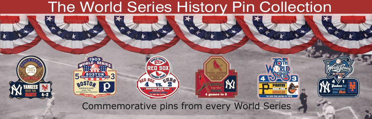 World Series Pins