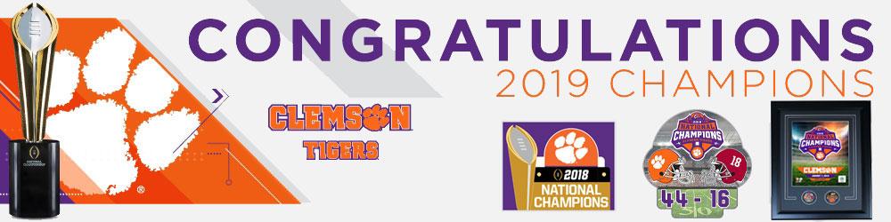 Clemson national champs pins
