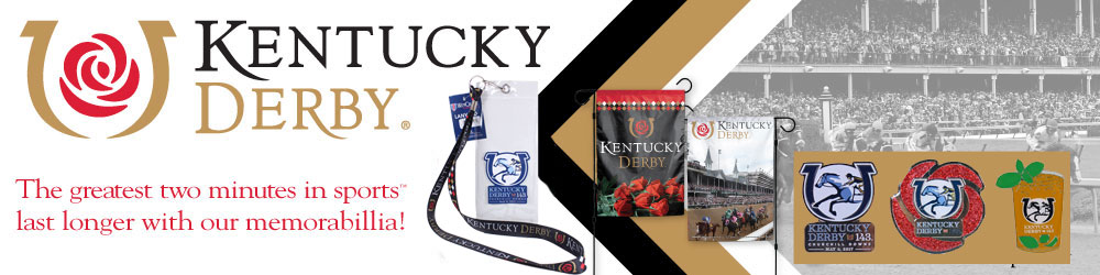 kentucky derby pin and lanyards