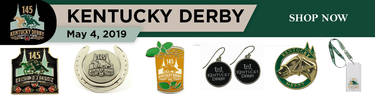 Kentucky Derby Pin Lanyards