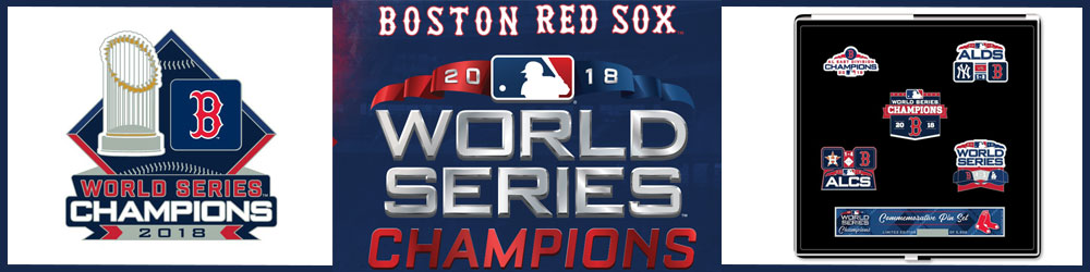 red sox world series champs pins