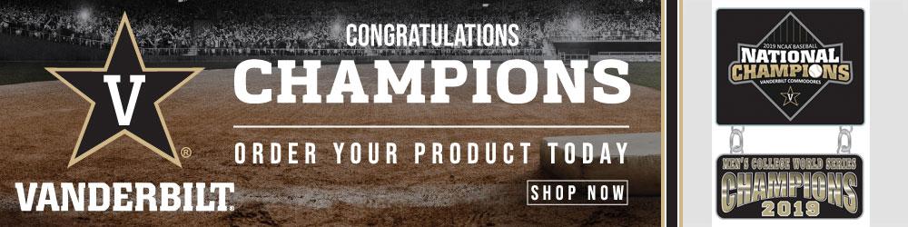 Vanderbilt College World Series Champs